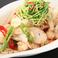 料理メニュー写真塩ホルモン炒め /冷やし豆腐