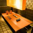 【1F】 10名様の完全個室空間