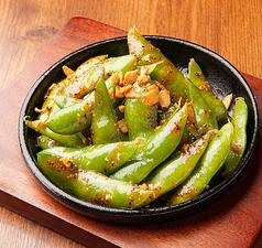 枝豆ガーリック鉄板焼き