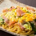 料理メニュー写真【麺】トントロベーコンの旨塩生姜焼きそば
