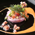 料理メニュー写真本日の直送 厚切り鮮魚のカルパッチョ