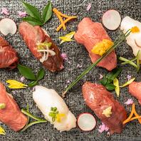 厳選食材を使用した九州料理の♪馬肉の寿司がおすすめ