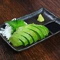料理メニュー写真アボカドのお刺身