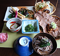 飛騨高山お食事処「大喜」の山菜料理