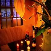 デートや記念日に…ゆったりとしたお席で至福のひと時をお過ごしください♪誕生日や記念日にはデザートプレートもご用意できます。