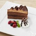 料理メニュー写真ベルギーショコラケーキ