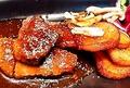 料理メニュー写真尾張牛サイコロステーキ