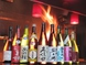 日本酒も常に新しいものに入れ替えております