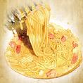 チーズ好きは食べずにいられないメニュー!もちもち食感とソースの絡みが絶妙なカルボナーラお店の絶品メニュー!!