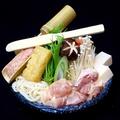 料理メニュー写真とり鍋(塩or和風)/牛もつ鍋(塩)