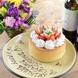 誕生日・記念日の際には事前予約でバースデイケーキ★