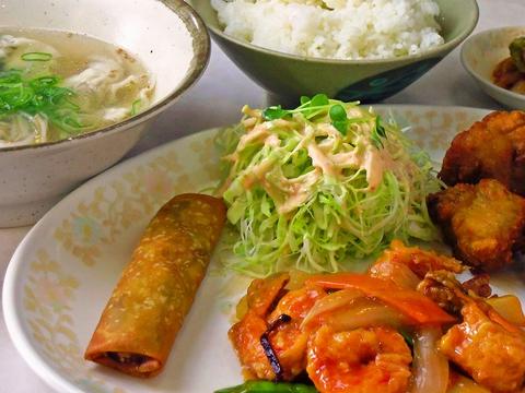 フルタイム食べれる王将セットは圧巻の全7品で997円!リーズナブルでおいしい中華!