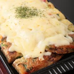 料理メニュー写真チーズチヂミ/ヘルシー野菜チヂミ