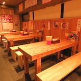 ▼ゆったり座れるテーブル席は6名様までOK!テーブルを繋げば団体様でのご利用も可能!