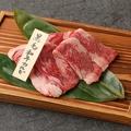 料理メニュー写真黒毛和牛のカルビ(120g)