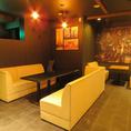 【合コン承ります!!】ソファ席はすべて仕切り付きで半個室へ変更可能!!合コンのお問い合わせも受け付けてます!!