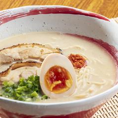 料理メニュー写真博多丸鶏ラーメン