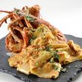 料理メニュー写真オマール海老のトマトクリーム パッパルデッレ