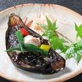 料理メニュー写真茄子田楽焼き