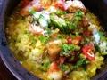 料理メニュー写真魚介の石鍋リゾット