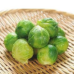 料理メニュー写真季節の野菜!芽キャベツ
