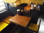 こちらはテーブル席です。