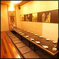11~20名様用、人気の掘り炬燵式完全個室