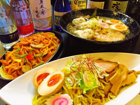 自慢の餃子とスープにも麺にもこだわった旨いと評判のラーメンがある中華の店。
