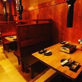 人数にあったぴったりなお席にご案内致します。落ち着いた店内でひときわ違うお食事をお愉しみ下さいませ。宴会、飲み会にも◎