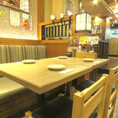 【新宿西口】ソファ席もご用意しております!