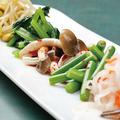 料理メニュー写真野菜のナムル6種盛り