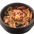 料理メニュー写真キノコの石焼ガーリックライス
