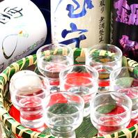 ●日本酒で日本横断…!あなたは西派?東派?飲み比べ