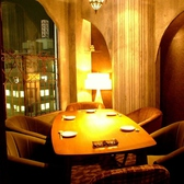 VIP個室は4~8名。大事なお食事会に。