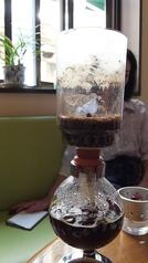 料理メニュー写真本格式サイフォンコーヒー