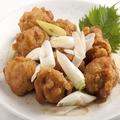 料理メニュー写真葱と鶏の山椒炒め