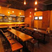 中規模な飲み会にもおすすめ♪ご宴会は少人数~大人数まで対応しております。座席のレイアウトなどお気軽にご相談ください。飲み放題付きのお得なコースもご用意しております!ご予算に合わせてお選び下さい。