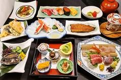 寿司 うなぎ 天ぷら 奴のコース写真