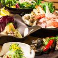 ◆全席個室空間◆団体様まで♪全席完全個室でご案内!広々とした個室席は団体様でのご宴会に最適!!普段は味わえないひと時を演出…食と空間を贅沢なまでに堪能できる当店イチオシの雰囲気を ぜひ心ゆくまでお楽しみください。
