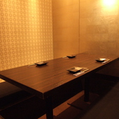 ◇4~6名様におすすめのお席◇各種ご宴会に、是非ご利用ください。小さな個室席は普段使いしやすく、人気のお席です。おこもり感のある室内で静かに愉しむも良し、お話に興じるも良し◎☆下見など幹事様もお気軽にご相談ください
