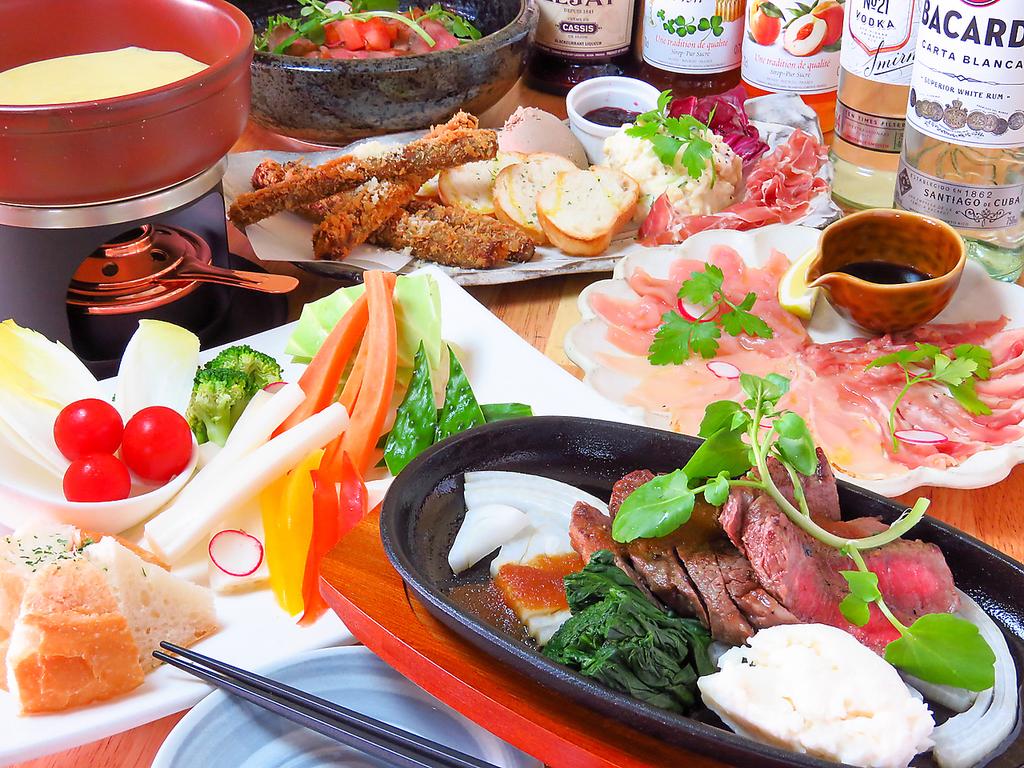 ちーずとお肉と鶏ぱっちょ とろーりラクレットが自慢の和風イタリアン酒房 和仁 店舗イメージ2