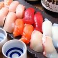 料理メニュー写真でん自慢のお寿司 5貫
