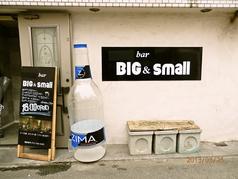 BAR BIG&small の写真