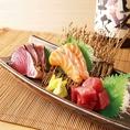 鶏料理のみならず、直送鮮魚にもこだわり毎日新鮮な旬魚を取り揃えております。