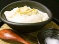 料理メニュー写真手づくり豆腐