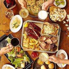 料理メニュー写真プレミアムコース♪目玉料理は選べる肉料理!おすすめの切り落としローストビーフを是非、プロントで◎