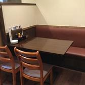 テーブル席もございます。