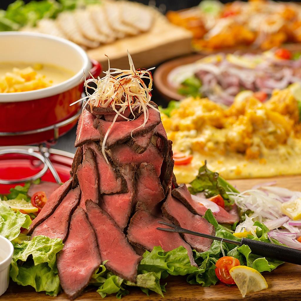 時間無制限 食べ飲み放題 個室×チーズ MEAT&RICH すすきのバル|店舗イメージ1