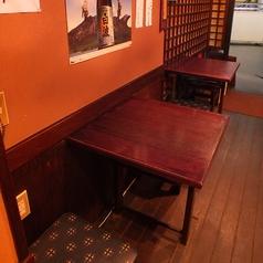 テーブル席 2~5名様までご利用になれます◎ 新宿西口 西武新宿 一人飲み 少人数飲み 鹿児島居酒屋 おいどん 西新宿