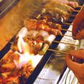 朝〆鶏の焼鳥は、丁寧に焼きジューシーに香ばしく仕上げます。ぜひ盛り合わせでご賞味下さい。